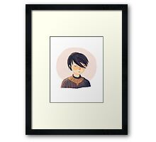 There Is Only One Thing We Say To Death Framed Print