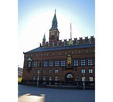 Copenhagen City Hall Photographic Print