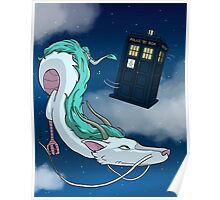 Spirited Away with the Doctor Poster