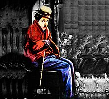 ☁ ☂ REMEMBERING CHARLIE CHAPLIN THROW PILLOW ☁ ☂ by ✿✿ Bonita ✿✿ ђєℓℓσ