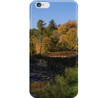 Rusty Little Bridge Complimenting the Fall Colors iPhone Case/Skin