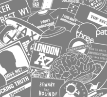 Ultimate Sherlock - Black and White Edition Sticker