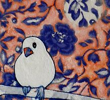 "Little Snow Bird II by Belinda ""BillyLee"" NYE (Printmaker)"