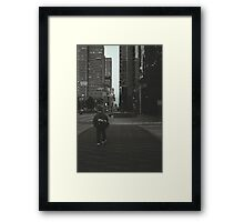 The Crosswalk Framed Print