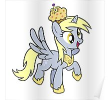 Derpy the Muffin Queen Tshirt Poster