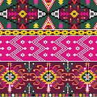 Native american seamless tribal pattern with geometric elements by tomuato