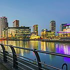 Salford Quays, Manchester by George Standen