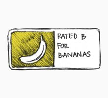B for Bananas by cyrilliart