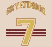 GRYFINNDOR Potter Jersey by BGWdesigns