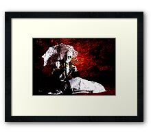 THE MADONNA QUERY Framed Print