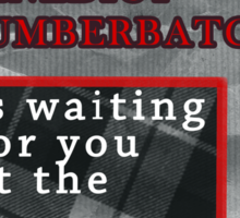 Run like Benedict Cumberbatch is waiting for you Sticker