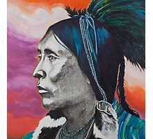 Nickel Icon - Indian Chief Photographic Print