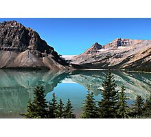 Bow Lake Reflection Photographic Print