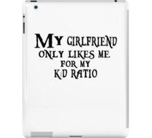 K/D Ratio iPad Case/Skin