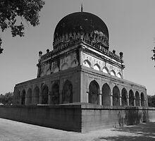 Qutub Shahi Tomb by Andrew  Makowiecki