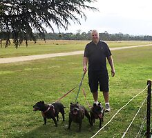 Jimmy and 'The Pack' by Vicki Childs