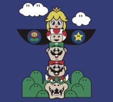 Super Totem Bros by machmigo
