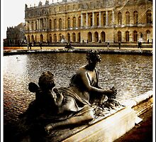 Statues At The Palace Of Versailles  by Ian Mooney