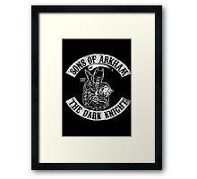 Sons Of Arkham The Dark Knight Framed Print