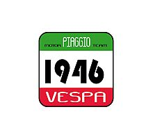 VESPA 1946 Photographic Print