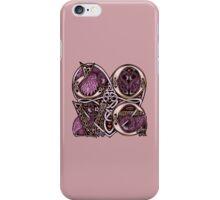 """Celtic """"Love"""" Flamingo Design iPhone Case/Skin"""