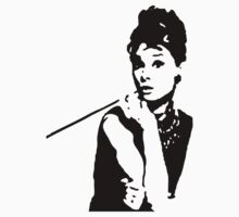 Audrey Hepburn Breakfast At Tiffanys by popculture