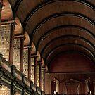 Long Room - Trinity College Dublin by Louise Fahy
