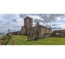 Inchcolm Abbey, Chapter and Warming House in Fife. Scotland Photographic Print