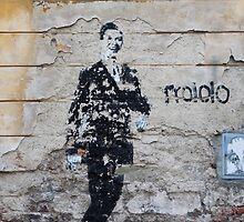 Trololo Man - Graffiti by artfot