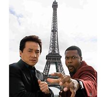Jackie Chan and Chris Tucker by JustinWXIII