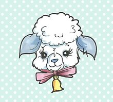 Kitsch Critter Layton the Lamb by gemsville
