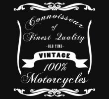 Vintage Motorcycles by LetThemEatArt