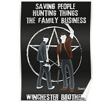 Winchester Brothers Poster