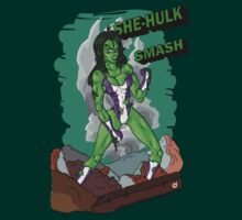 She-Hulk Smash! by Bloodysender