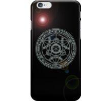 Fullmetal Alchemist transmutation circle iPhone Case/Skin