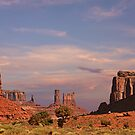 Monument Valley - Mars-like terrain by Christine Till  @    CT-Graphics