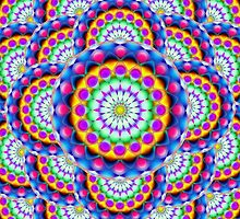 Mandala Psychedelic Visions by Medusa81