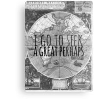John Green -- Great Perhaps 003 Metal Print