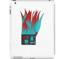 Flaming Square iPad Case/Skin
