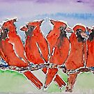 '8 Red Robins' by jansimpressions