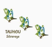 Silvereye TAUHOU New Zealand Bird Kids Clothes