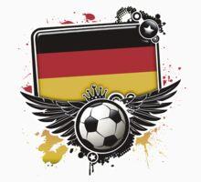 Soccer Fan Germany by magiktees