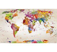 map  Photographic Print