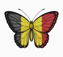 Belgian Flag Butterfly by Jeff Bartels