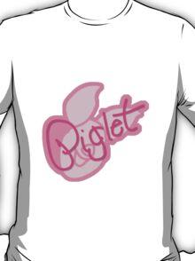 Piglet Symbol & Signature T-Shirt