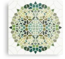 Herbal tea - Voronoi Metal Print