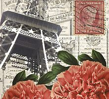 Paris and Peonies by claryce84