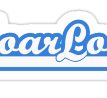 MoarLow (blue) Sticker
