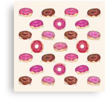 Homemade Doughnuts Canvas Print