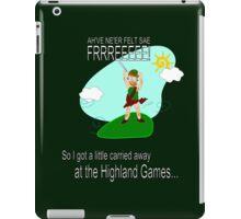 Highland Games iPad Case/Skin